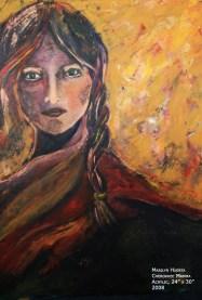 Cherokee Mamma- Acrylic