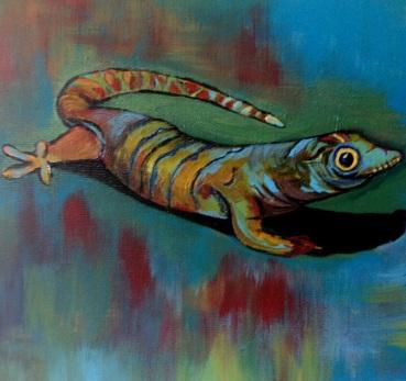 Lizard - Acrylic