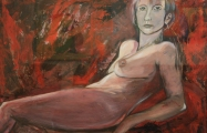 Painting - Red Nud
