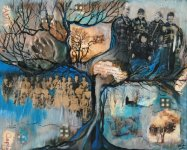 Family Tree - Mixed Media