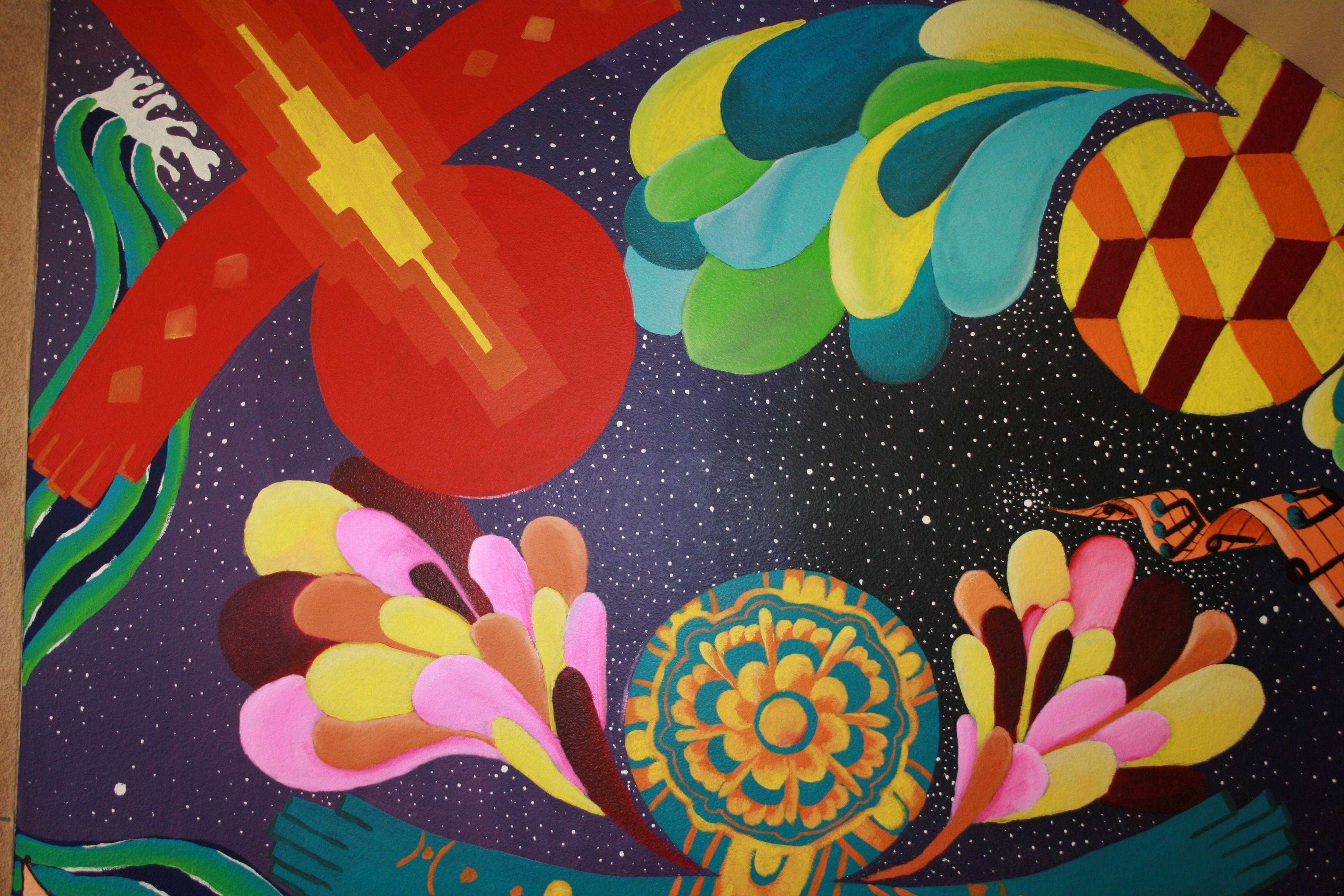 Murals public art marilyn huerta artist for Art miles mural project