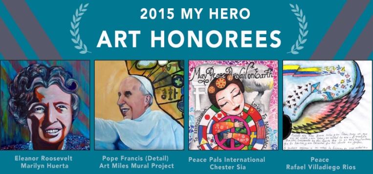 2015 myhero art honorees